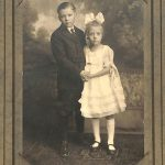 Formal portrait of Anker and Marion Johnson circa 1920's.